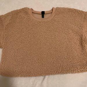 Sherpa Fluffy Sweatshirt